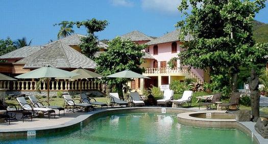 Castello Beach Hotel Praslin Seychellen