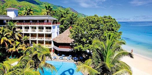 Coral strand hotel seychellen beau vallon bay mah for Boutique hotel am strand