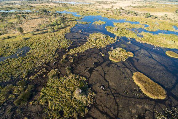 Sunway Botswana Okavango flight 2 (Bruce Taylor)