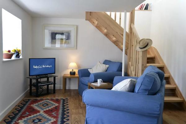 ferienhaus the studio in rinsey cove 4 personen. Black Bedroom Furniture Sets. Home Design Ideas