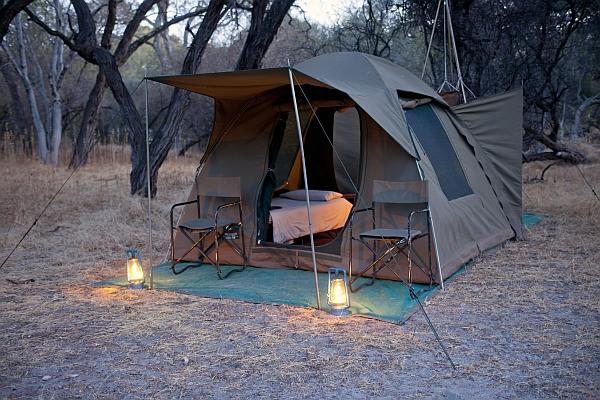 Zelt Camping : Botswana camping safari quot mobile matshwane