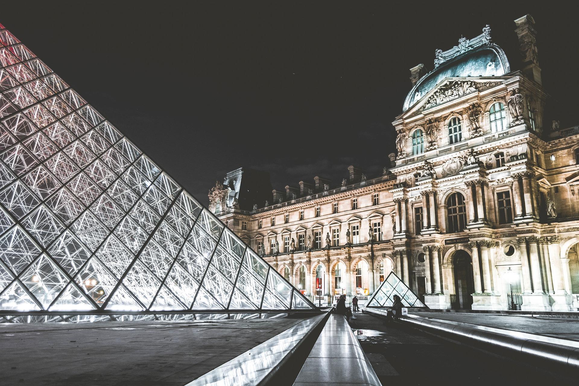 Der Louvre in Paris
