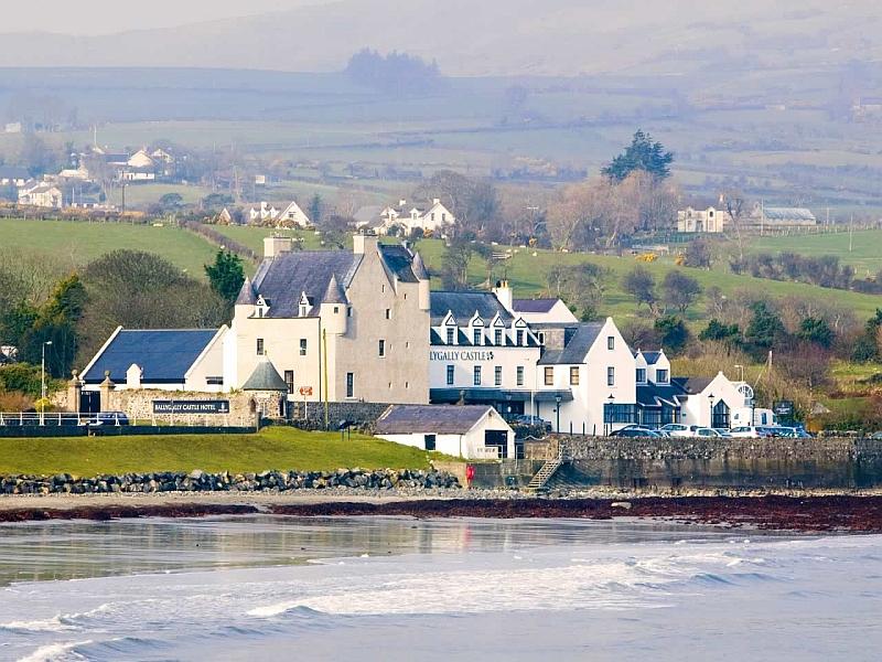 Ballygally Castle Hotel Schlosshotel Nordirland Antrimkuste