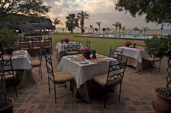 Genießen Sie Ihr Dinner mit einem wunderschönen Ausblick.