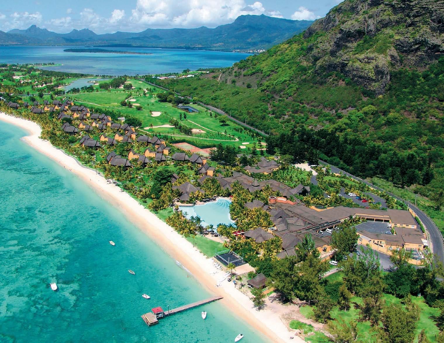 Mauritius Flughafen Nach Hotel Laguna Beach Spa