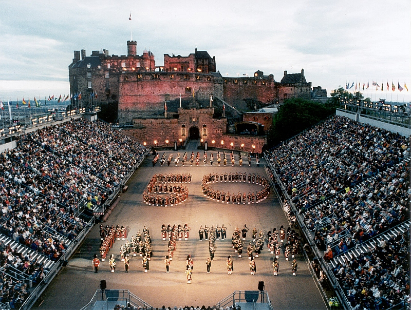 Edinburgh Military Tattoo Reise