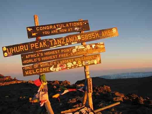 Freuen Sie sich auf fantastische Ausblicke während Ihrer Kilimanjaro Trekkingtour